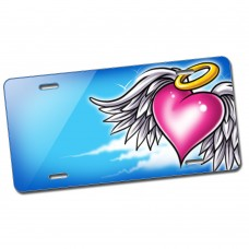 AT1219 Winged Heart Blue